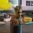 Télécharger fichier STL gratuit Groot Buste Groot Sculpture • Modèle pour impression 3D, EkleipsiMedias