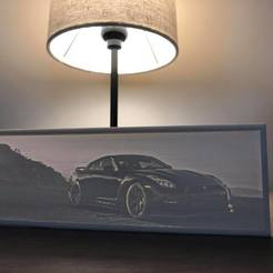 3D printer models Nissan GTR R35 Lithophane, joe_smith