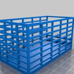 fb18b73e63ca647de2a5ce2001f7fbcd.png Download free STL file ERTL John Deere Square Bale Kicker Hay Wagon • 3D print object, EmbossIndustries