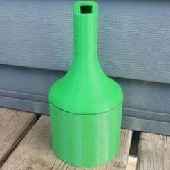 20190720_114447.jpg Download free STL file Cigarette Butt Receptacle • 3D print object, EmbossIndustries