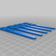 Download free 3D model Plant Stakes, EmbossIndustries
