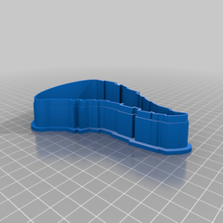 Télécharger fichier 3D gratuit Coupeurs de biscuits de l'État de l'Iowa, EmbossIndustries