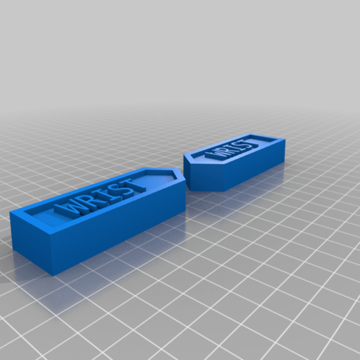 Wrist.png Download free STL file Body Part Arrow Magnets • 3D printable model, EmbossIndustries