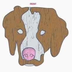 MarleyFinished.JPG Télécharger fichier STL gratuit Aimant pour chien d'épagneul breton • Design pour impression 3D, EmbossIndustries
