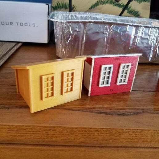 Download free 3D printer templates Farm buildings, EmbossIndustries