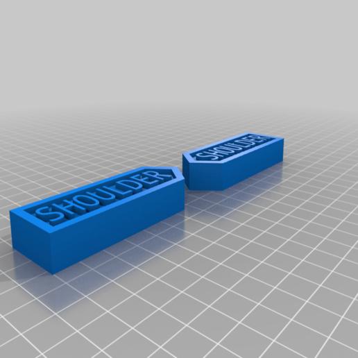 Shoulder.png Download free STL file Body Part Arrow Magnets • 3D printable model, EmbossIndustries