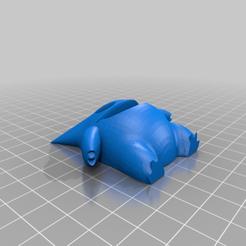 GengarMagnet.png Download free STL file Pokemon Magnets • 3D print model, EmbossIndustries