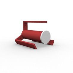 Descargar modelo 3D gratis papel higiénico, loaisalah