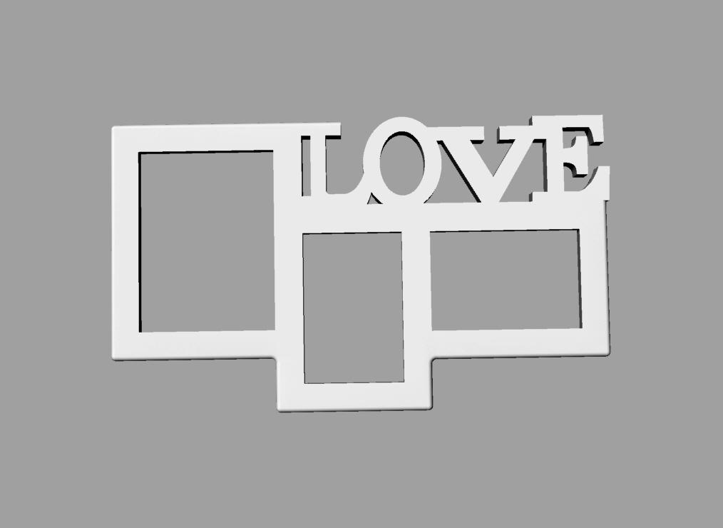 photo frame.jpg Download free STL file  PHOTO FRAME • 3D printer model, loaisalah