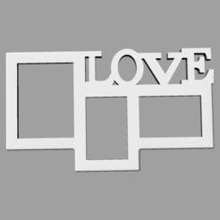 Download free 3D printer designs  PHOTO FRAME, loaisalah
