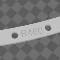 2020-12-24 10_59_29.png Download free STL file Curved jig for laying flexible rail R460 • 3D printing object, jembi00