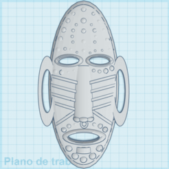 Download 3D model African Mask, milantecnology98