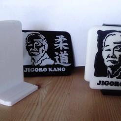 Download 3D printer designs Portrait frame jigoro Kano, moijacq