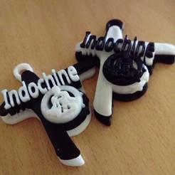 Descargar diseños 3D Llavero de la Cruz de Indochina, moijacq