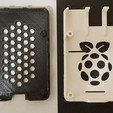 Download free 3D printer templates Malolo's screw-less / snap fit Raspberry Pi 3 Model B+ Case & Stands, Malolo
