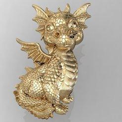 Download 3D printer designs little dragon , sergotall1977