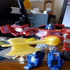 Descargar archivos STL gratis Transformers Classics Energon Ax para Optimus Prime, remedinav