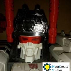 helmet1.jpg Télécharger fichier STL Casque de remplacement pour les générations Metroplex • Objet à imprimer en 3D, MetaCreateStudios
