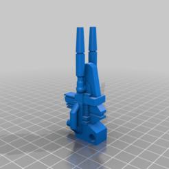 Download free 3D printer templates Transformer POTP Grimlock Weapons, MetaCreateStudios
