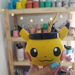 WhatsApp Image 2020-09-03 at 16.48.11 (2).jpeg Download STL file Pikachu Mate • 3D printing template, FOM