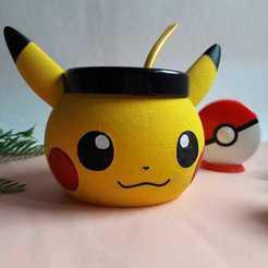 Download 3D printing files Pikachu Mate, FOM