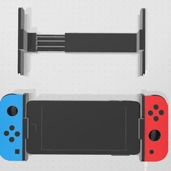 Download 3D printer designs adapter for Joycons and Smartphone, facumensa65
