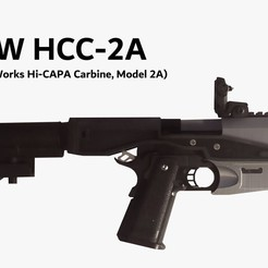 Download free 3D print files JTW HCC-2A (An Open-Source Hi-CAPA Carbine Kit), jokertoolworks