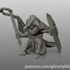 Download free 3D printing designs Hobgoblin (spear/halberd