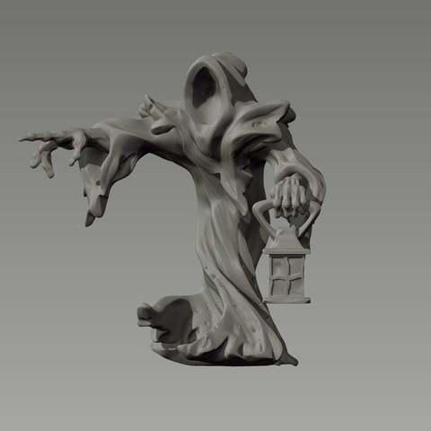 Imprimir en 3D gratis Espectros, GloomyKid