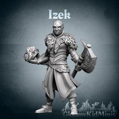 banner_insta.png Télécharger fichier STL gratuit Izek • Modèle à imprimer en 3D, GloomyKid