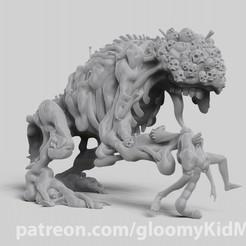 Descargar archivos 3D gratis Montículo de carne, GloomyKid