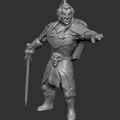 Download free 3D printing designs Hobgoblin Warlord, GloomyKid