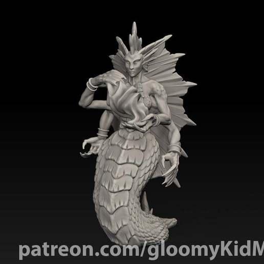 Descargar archivo 3D gratis Hechicera Naga, GloomyKid