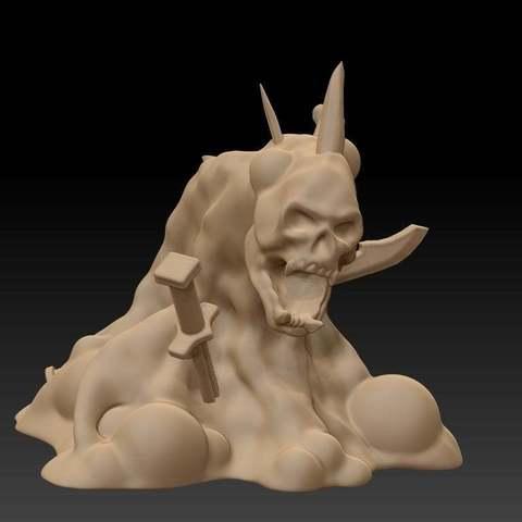 Descargar Modelos 3D para imprimir gratis Exudado Mayor, GloomyKid