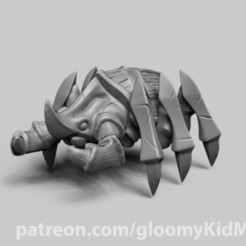 Download free STL file Scarab • 3D printable design, GloomyKid
