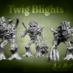 Descargar modelos 3D gratis Twig Blights, GloomyKid