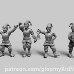 Télécharger fichier impression 3D gratuit Elfes de Noël, GloomyKid