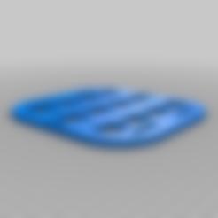 Download free STL file Tactical Rigid MOLLE Panel • Design to 3D print, cedb74