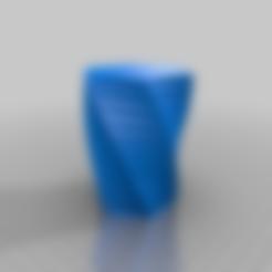 twisted-polygon-vase_20190927-68-ubrtk6.stl Télécharger fichier STL gratuit Mon vase personnalisé en polygone torsadé • Objet pour impression 3D, cedb74