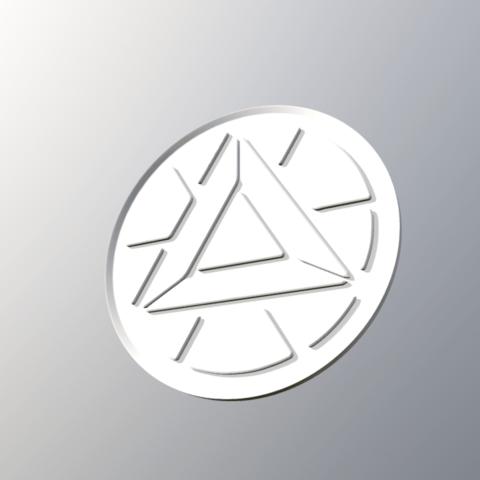Télécharger objet 3D gratuit logo homme de fer, ramon_lol123