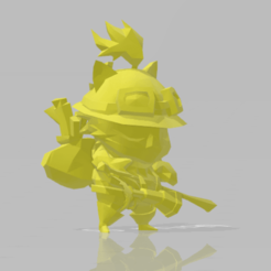Download free 3D print files Teemo collection (7 Skins) + shrooms, STLOL