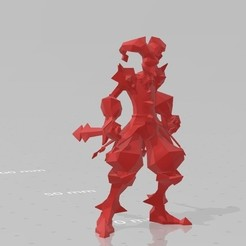 Download free STL file Shaco LoL + Box • 3D printable template, STLOL