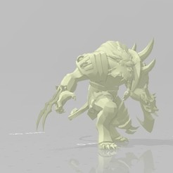 Download free STL file Rengar LoL • 3D printing model, STLOL