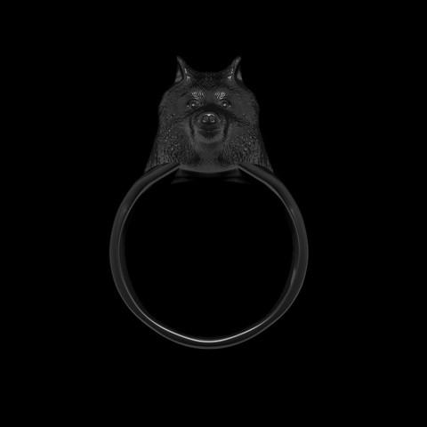 Descargar archivo 3D Anillo Lobo Stark /Joya / Game Of Thrones, Oscco_