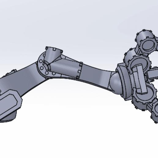 Descargar STL gratis Mini brazo de servo, franklima260