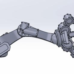 Télécharger fichier STL gratuit Mini servo-bras • Modèle pour imprimante 3D, franklima260