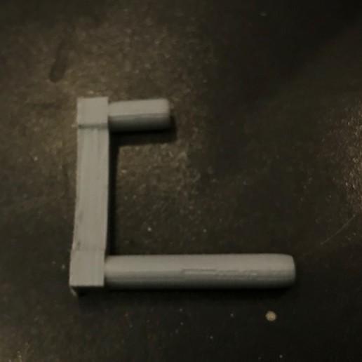 IMG_5340.jpg Download free STL file Bike Wall Holder • Design to 3D print, Hardcore3D