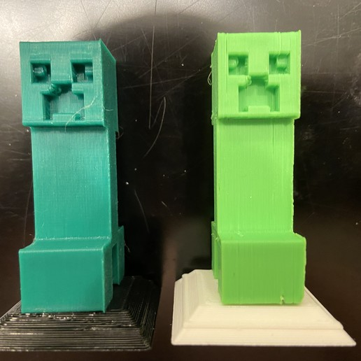 2020-01-20_01.02.35.jpg Download free STL file Complete Minecraft Chess Set • Model to 3D print, Hardcore3D
