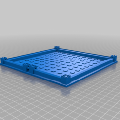Cathedral_Board.png Download free STL file Cathedral Game - Board and Cover • 3D printable template, Hardcore3D