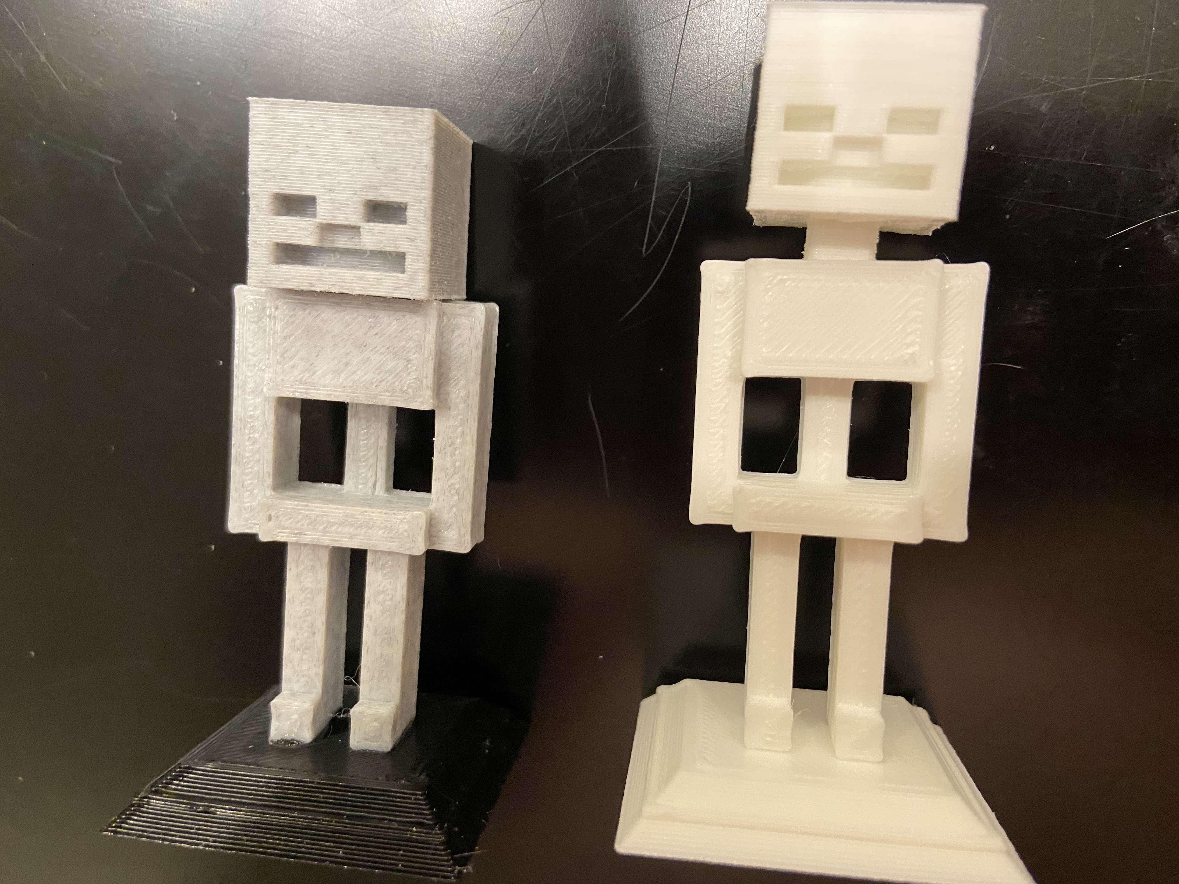 2020-01-20_01.01.23.jpg Download free STL file Complete Minecraft Chess Set • Model to 3D print, Hardcore3D